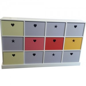 Pigeon hole Unit with various colours of YOUR choice