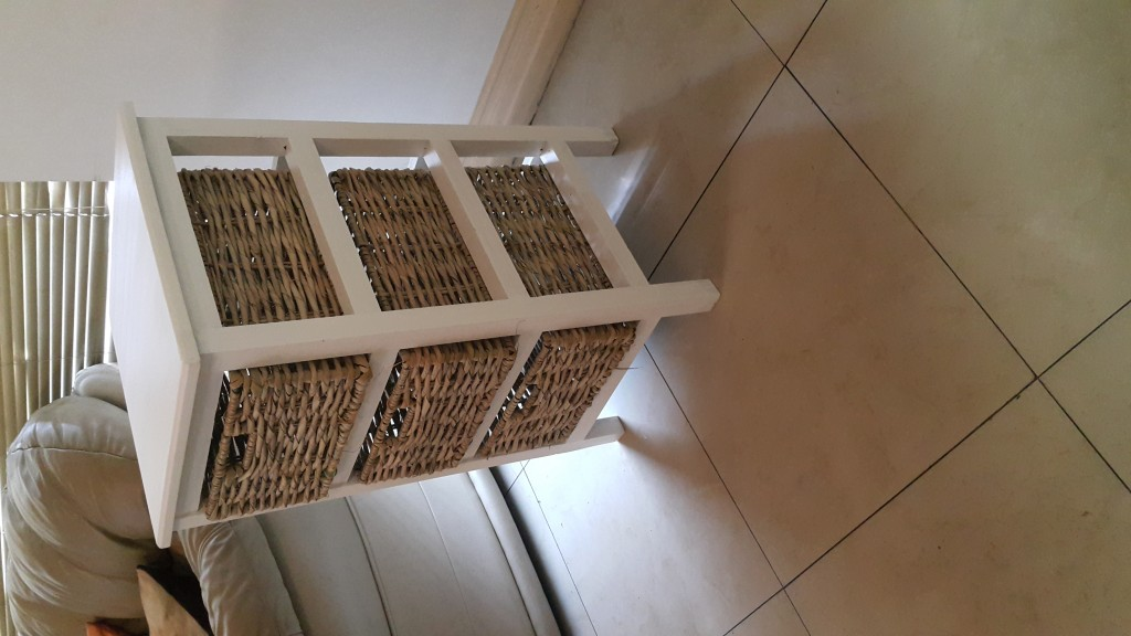 Chest of Drawers in Three Drawers including Steel Reinforced Baskets