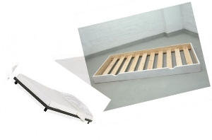 It is a extra bed that you can put under our manufactured beds