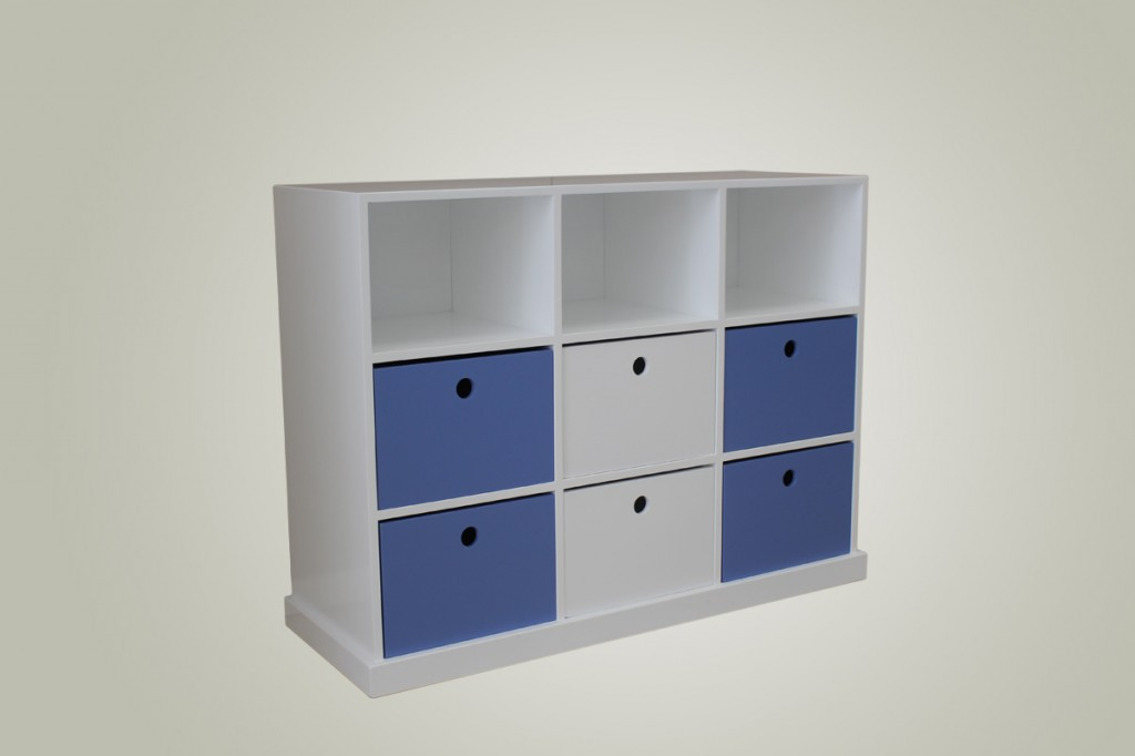 Pigeon Hole Nine Drawer Unit