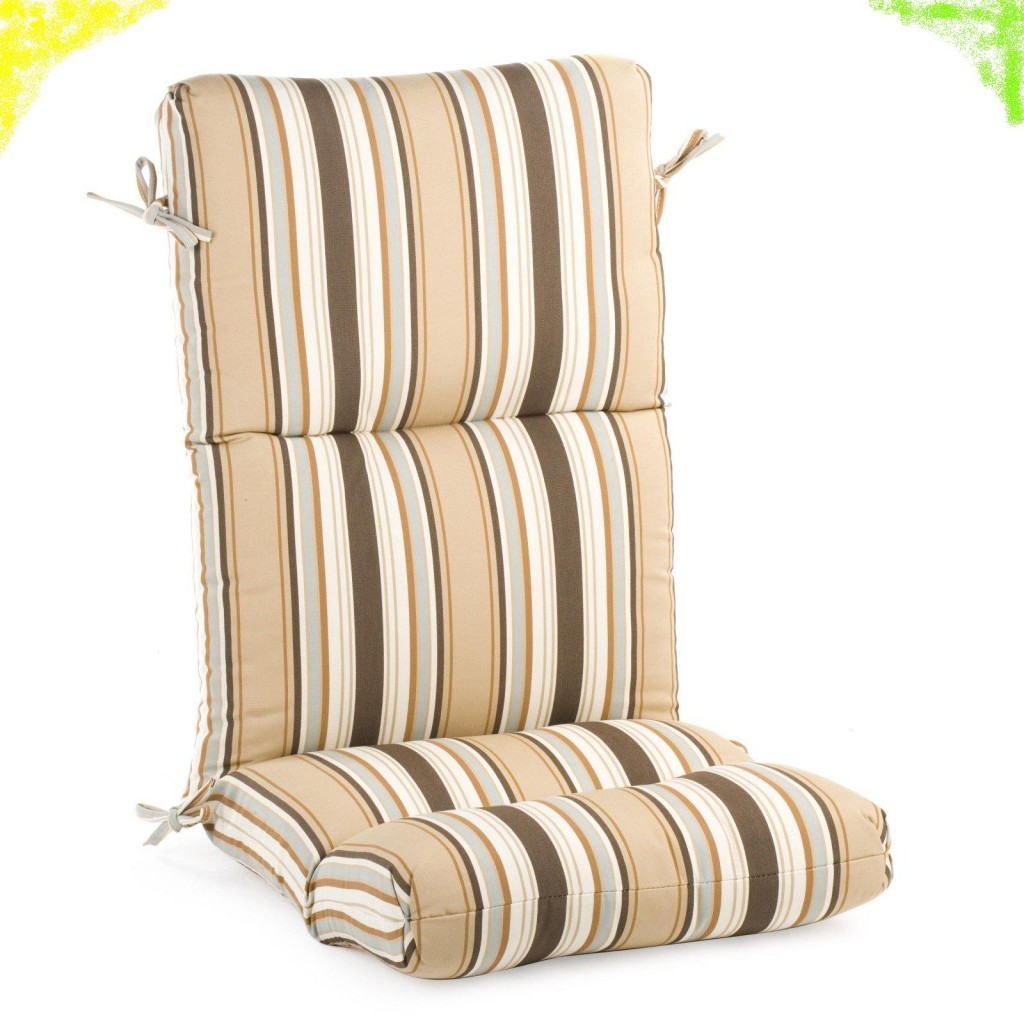 Beige Strip Cushion