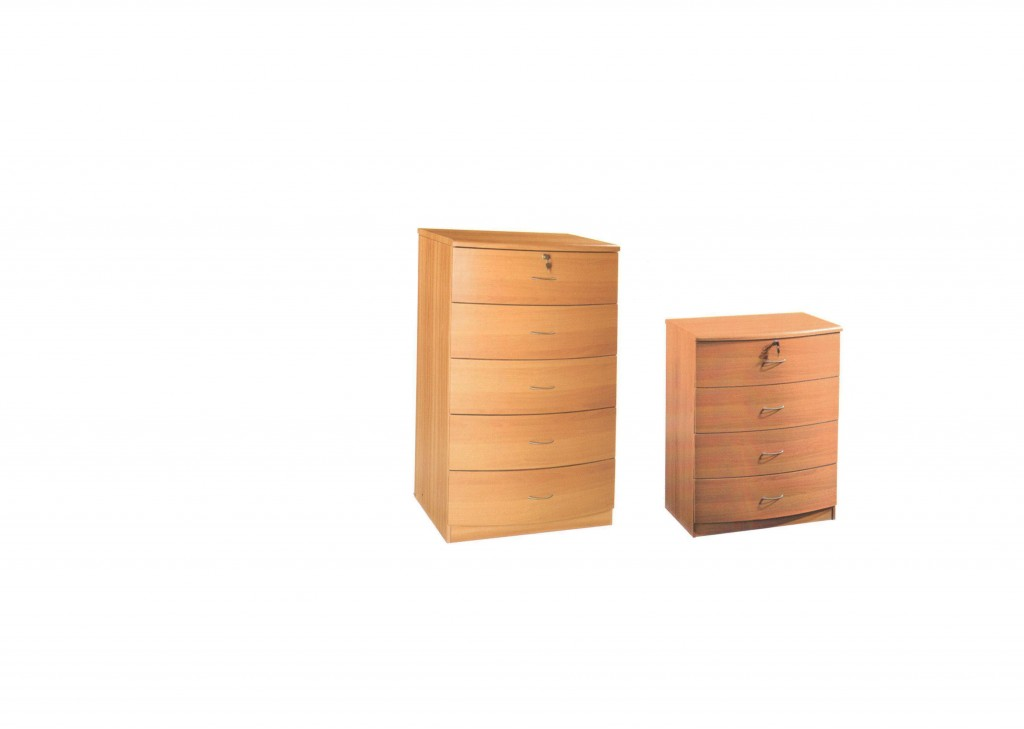 Curved Base Chest of drawers