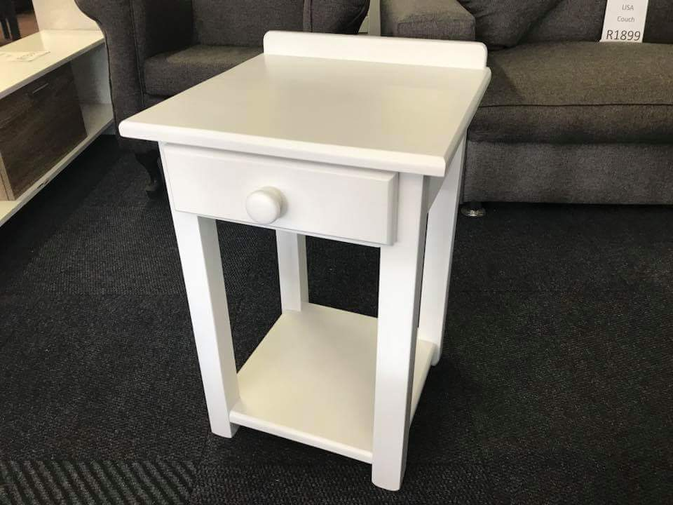 Solid Pine Wood Pedestal with one drawer