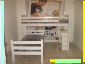 L Shape Bunk Bed