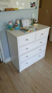 Kick Plate Design Chest of Drawers