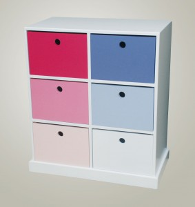 Pigeon Hole Unit with 6 drawers