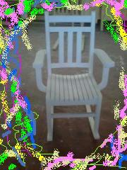 Rocking Chair Boy and Girl