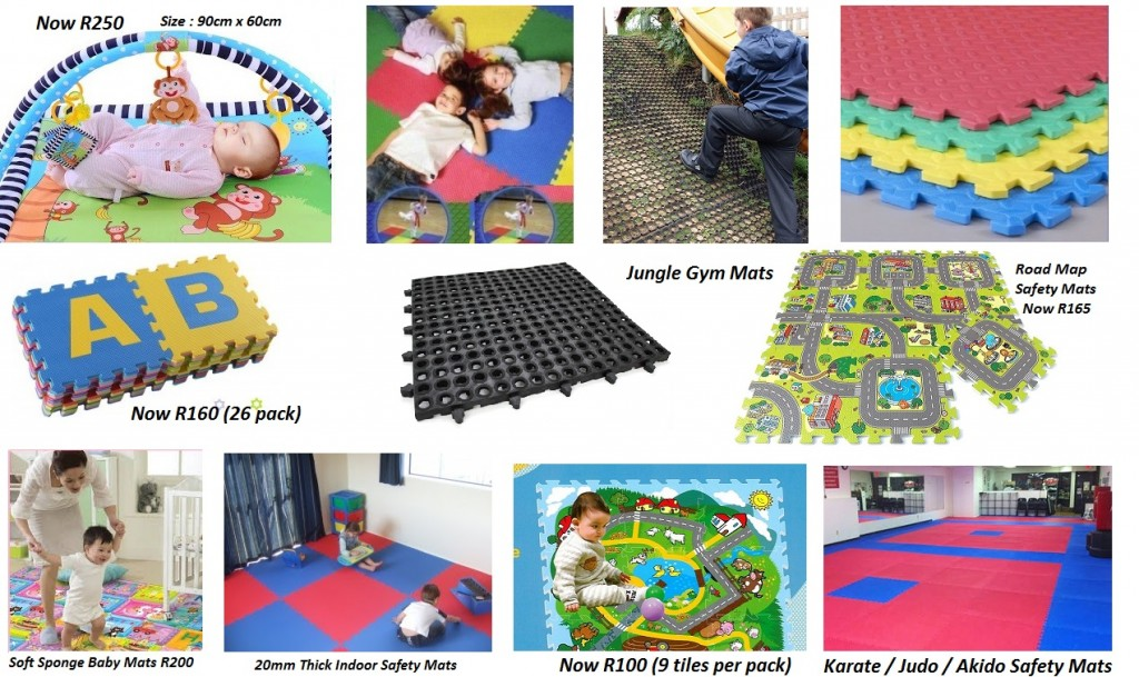 Baby Safety Mats and Playroom Jungle Gyms Safety Mats