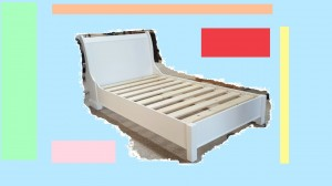 Sleigh Bed without matching footend
