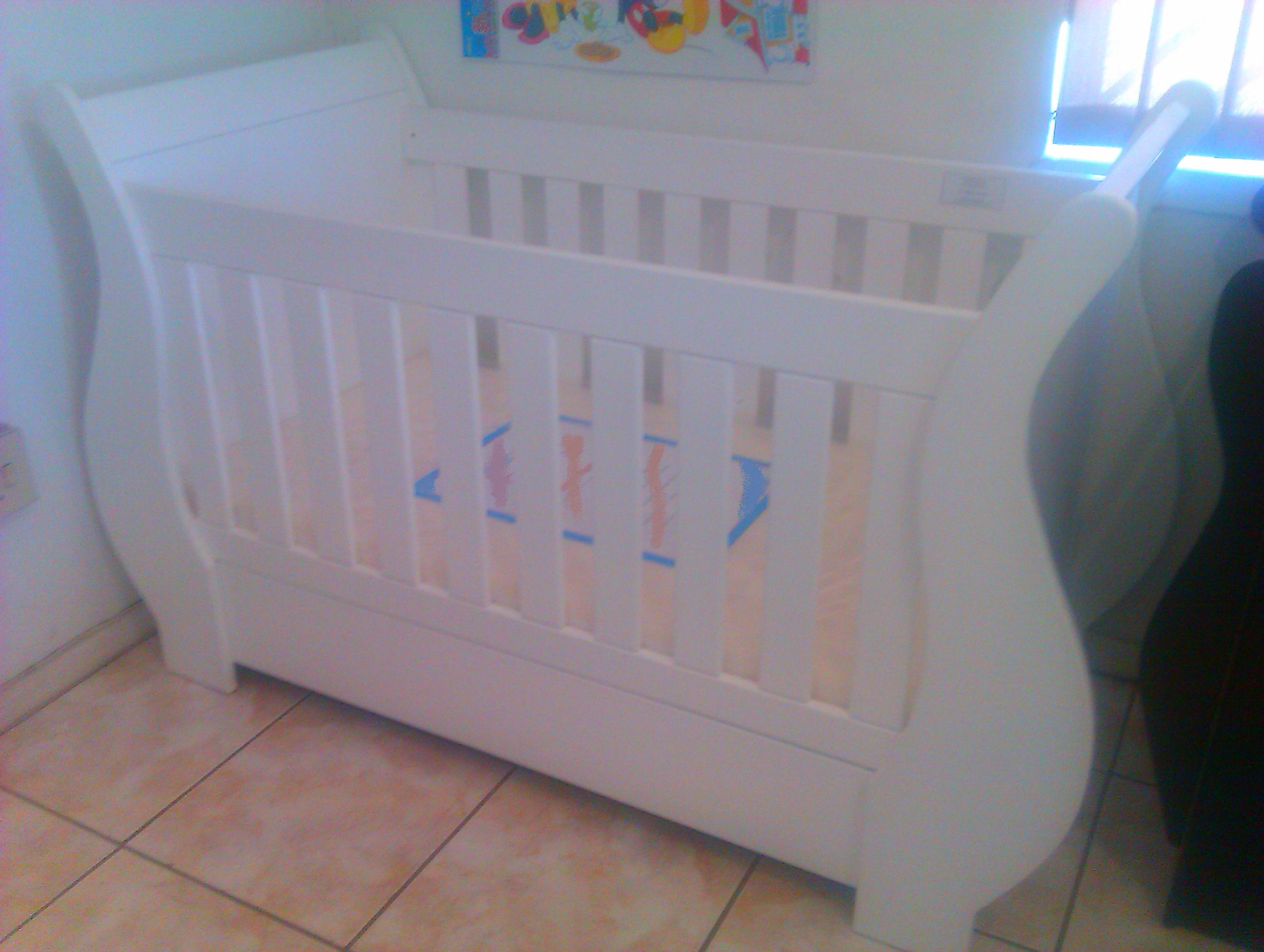 Sleigh Straight Base Baby Cot Babycotsforsale Co Za