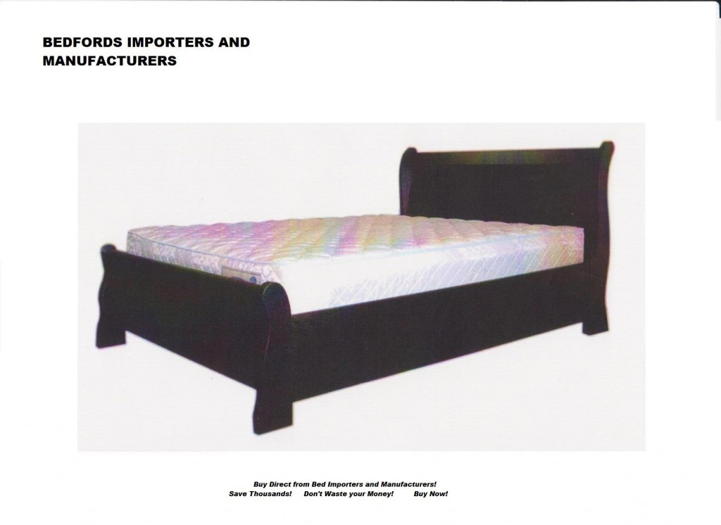 Sleigh bed box Excellant