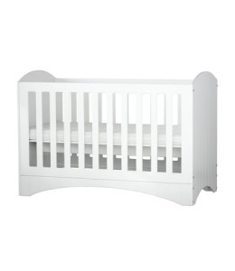 Sunrise Baby Cots With 3 adjustable levels that converts into a kiddy bed