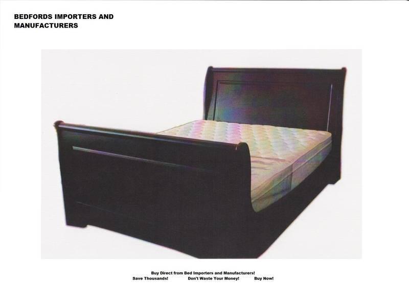 Wander high Sleigh Bed