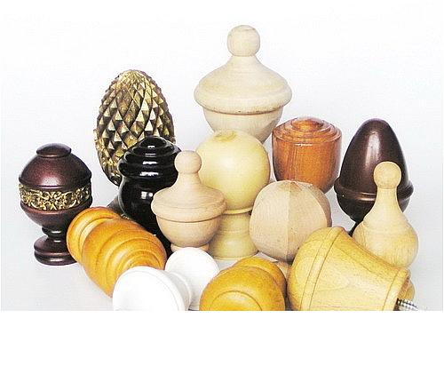 Wooden Finials Various