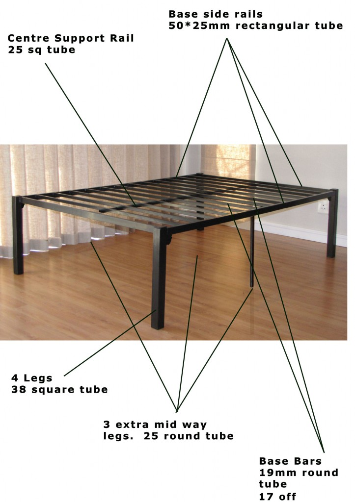 BCS Steel Divans available in different bed sizes