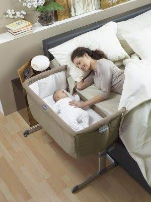 Luxury Baby Co Sleeper Baby Cot