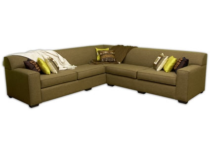 l shape with loose cushions