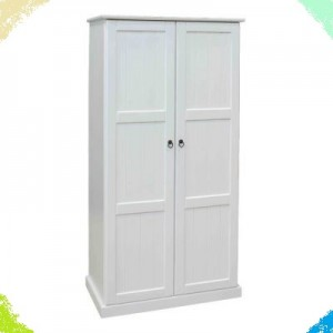 BCS Two Door Cupboard with two shelves behind the door on the right
