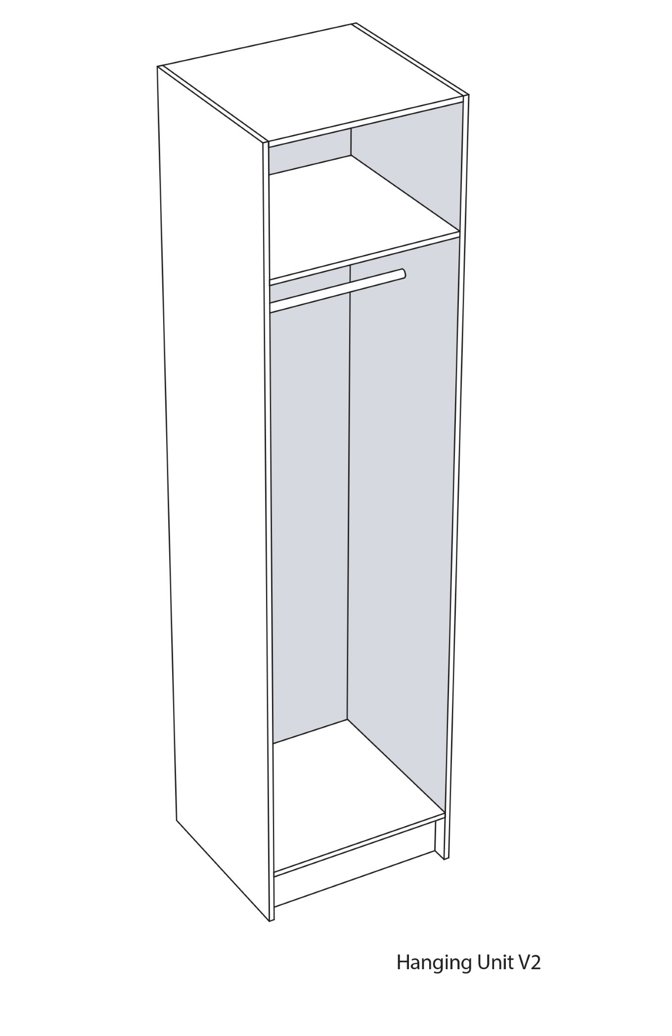 Hanging Cupboard Unit