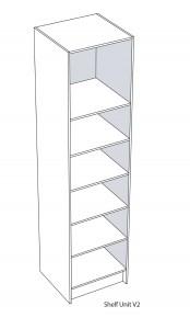 Shelf Cupboard Unit