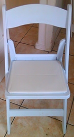 Fold Up Chair with soft seat