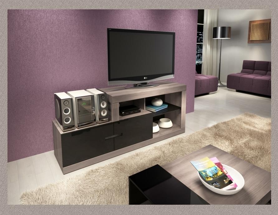Plasma TV Stand Argentum
