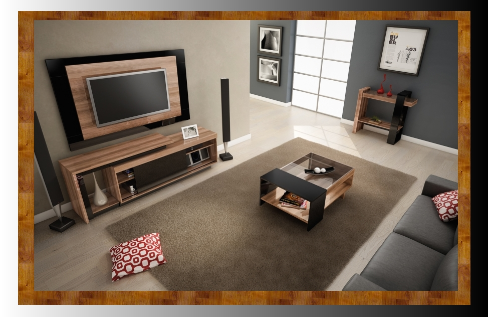 Plasma stand Pegasus coffee tables and side table