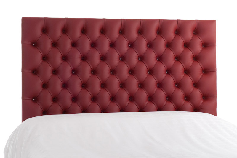 Bedfords Genuine Leather Headboards Red