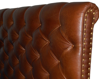 Bedfords Genuine Leather Headboards