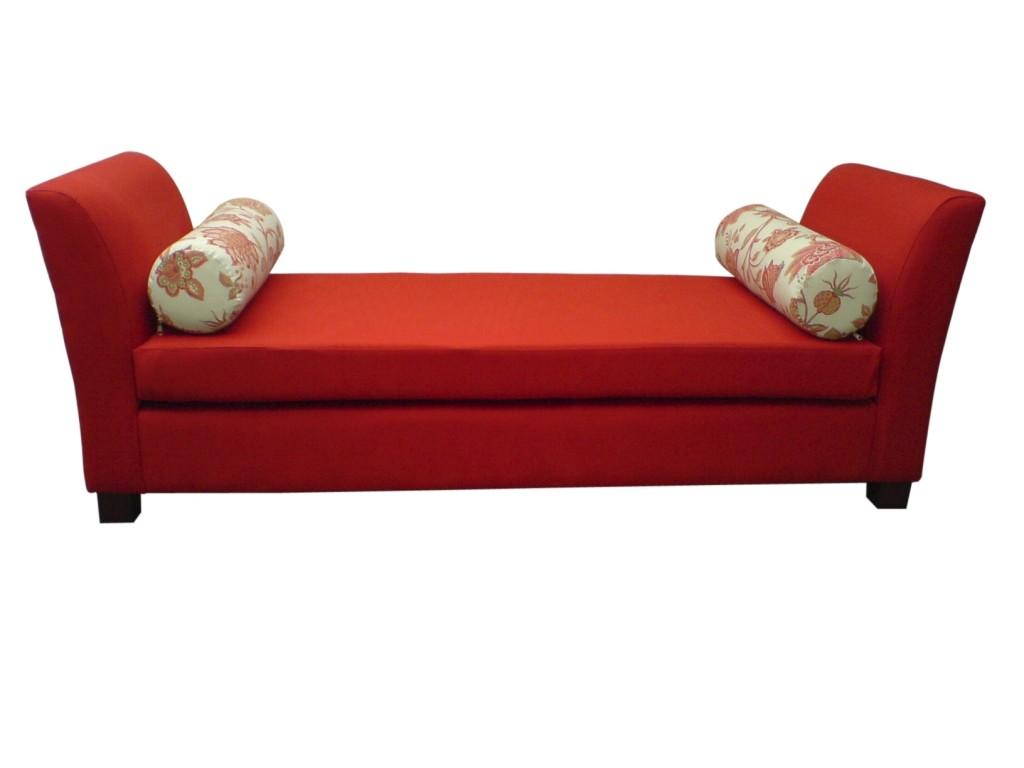 Christie Red Chaise Bea