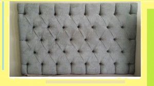 Deep Button Headboard Without Wings