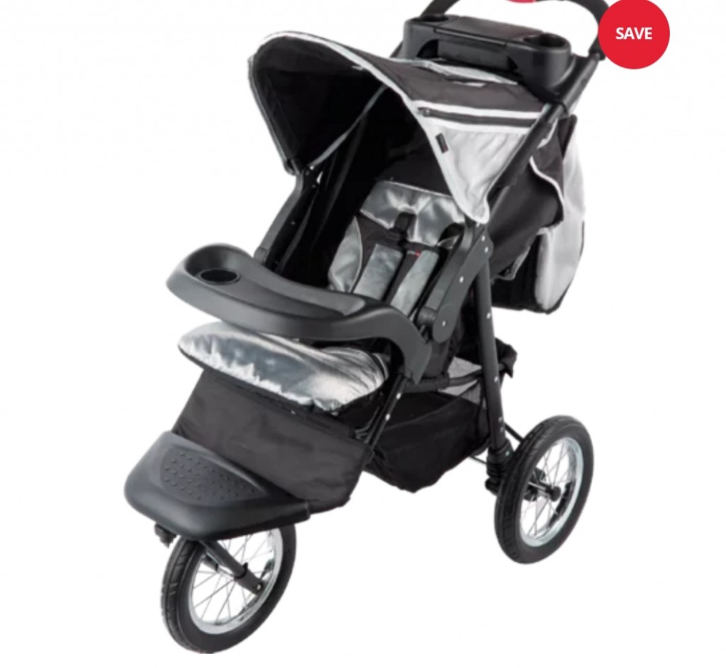 Three Wheel Jogger Baby Pram