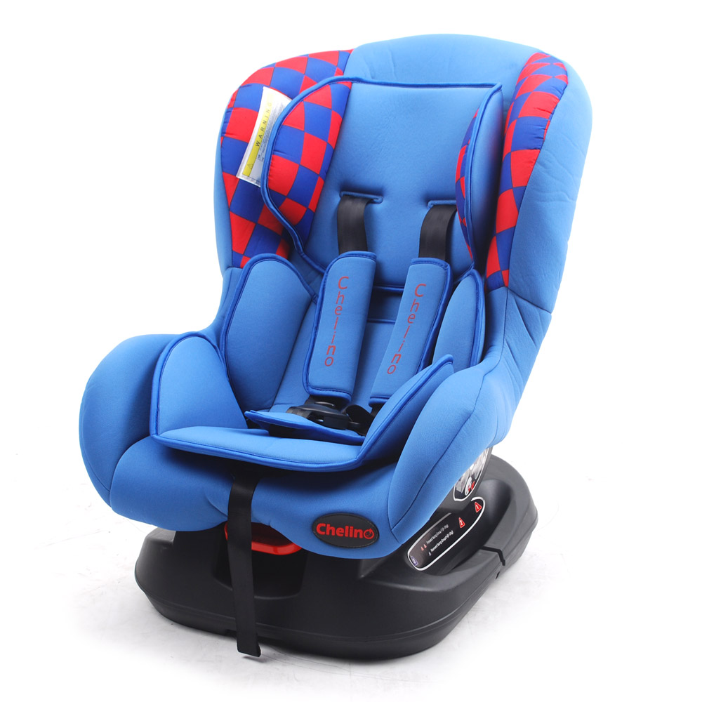 Blue and Red Check Car Seats Now R999