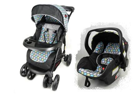 Coyote Pram with Car Seat Honey Comb Now R2400