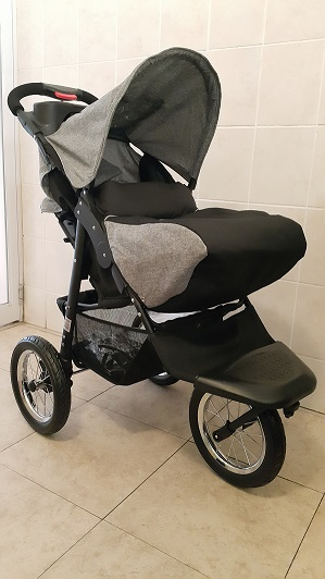 Foot Cover of Soft Grey Baby Jogger Baby Pram