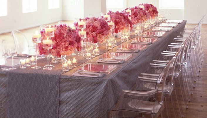 Ghost Chairs for Main Table