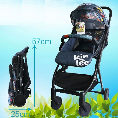 Kinlee Baby Pram Fold Up Size