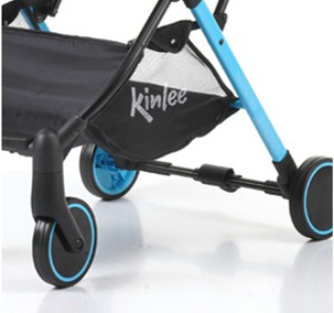 Kinlee Designer Pram Stylish Wheels and Moulded Frame