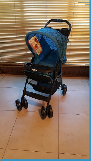 Kinlee Food Tray Travel Pram