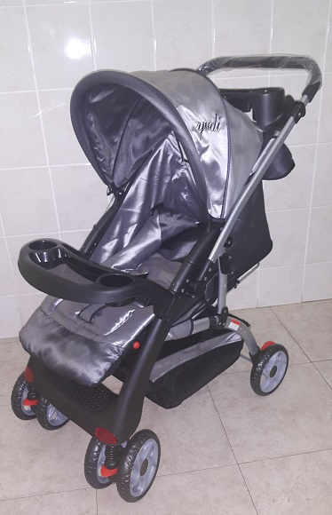 Large Silver Reversible Baby Prams