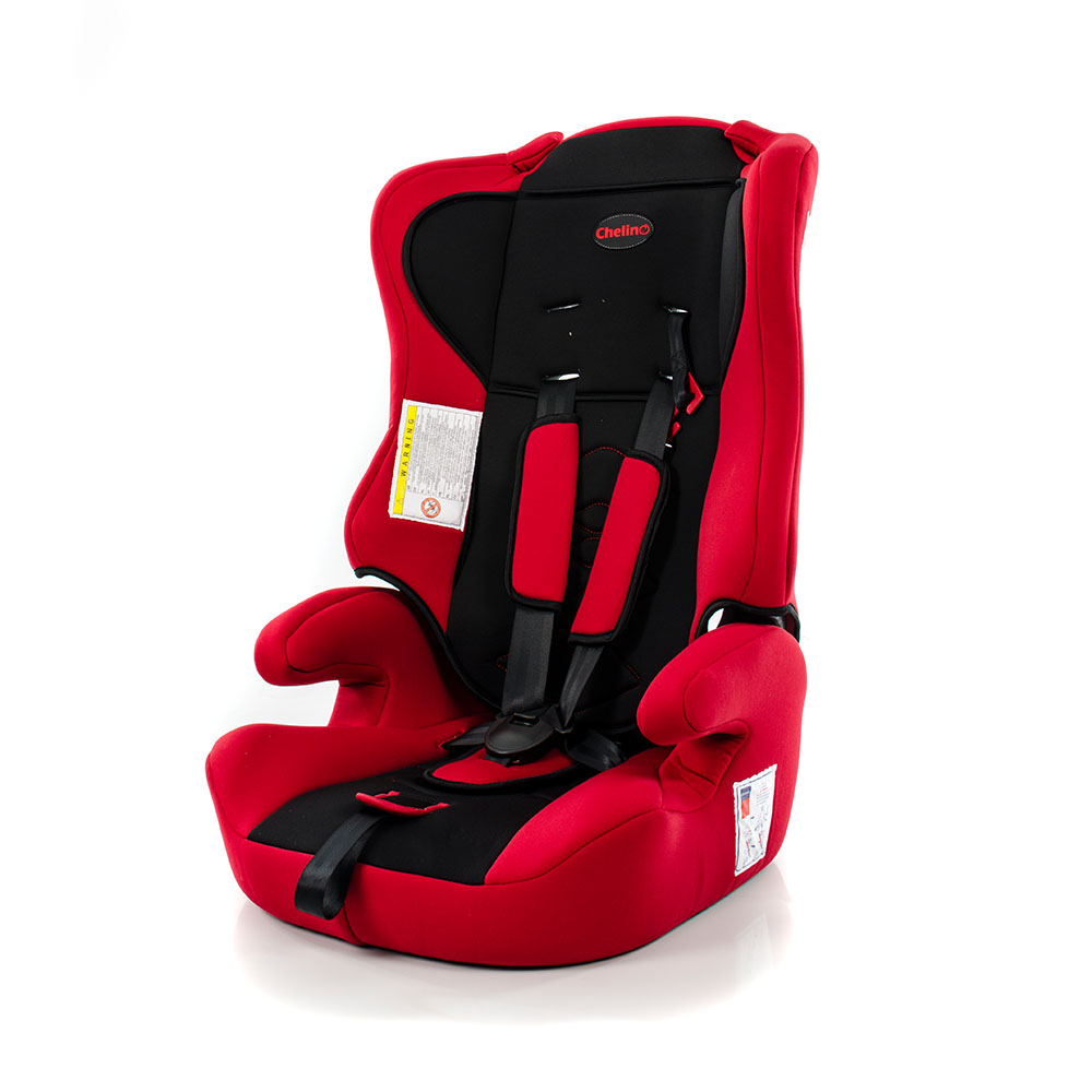 Phantom Car Seat Red and Black Now R850