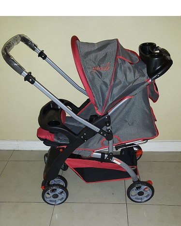 Standard Curve Reversible Baby Prams with Reverse View