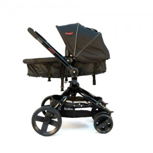 Black Twister with only the carry cot that convert into the pram seat