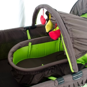 6 in 1 Camp Cot Close Up Carry Cot