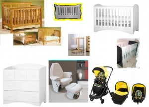 Baby Cots Prams Rocking Chairs