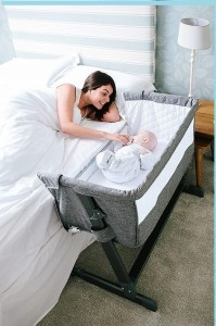 Soft Co Sleeper with 6 adjustable levels