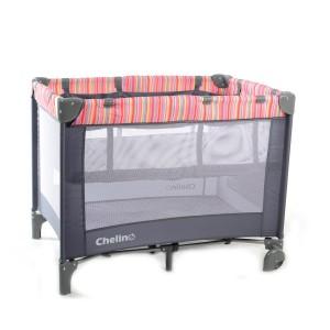 Lilo Stripe Baby Camp Cot