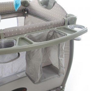 Tiffany Baby Camp Cot Basket View