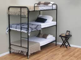 Triple Steel Bunk Beds