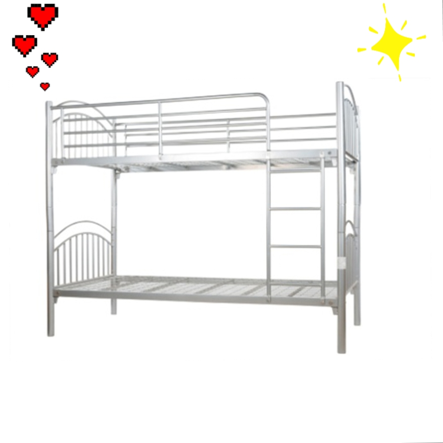 Extra Safety Rail Silver Bunk Bed